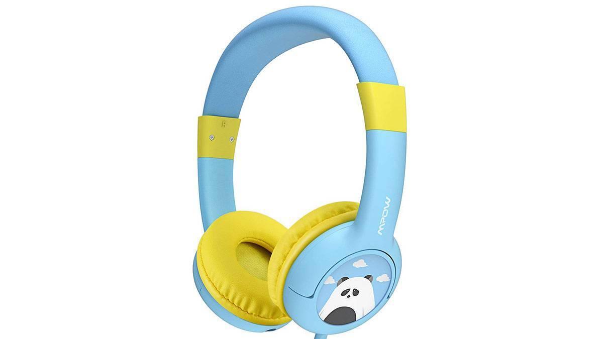 Un casque audio rigolo qui protège les oreilles des enfants
